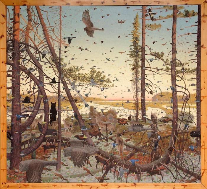 Tom Uttch painting